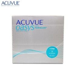 Контактные линзы Acuvue® Oasys 1-Day HydraLuxe® (90 шт) R: 9.0