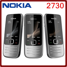 2730 Original phone Nokia 2730 Cheap phones Unlocked GSM WCDMA  with Russian keyboard Free shipping