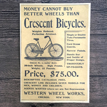 Vintage Old bicycle advertising Prints poster retro painting wall picture sticker wallpaper home decoration 42x30cm ZNP-B007