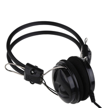 1.8m Vodool Wired OVLENG OV-L808MV Over-Ear Earphone Headset Headphone With Mic For Computer PC Phone