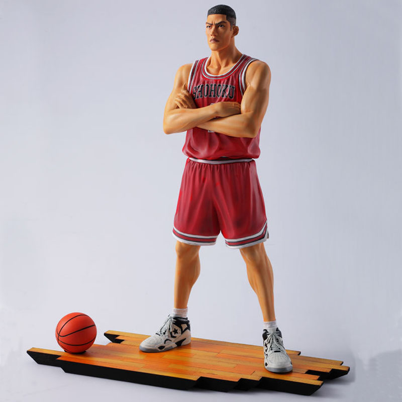 Free Shipping 11 Slam Dunk Slamdunk Anime Shohoku #4 Akagi Takenori Boxed 27cm PVC Action Figure Collection Model Doll Toy Gift<br>