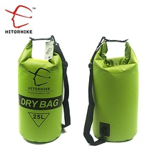 HITORHIKE 25L Waterproof Dry Bag Outdoor Swimming Camping Rafting Storage Bag with with Adjustable Straps 5 Colors(China)