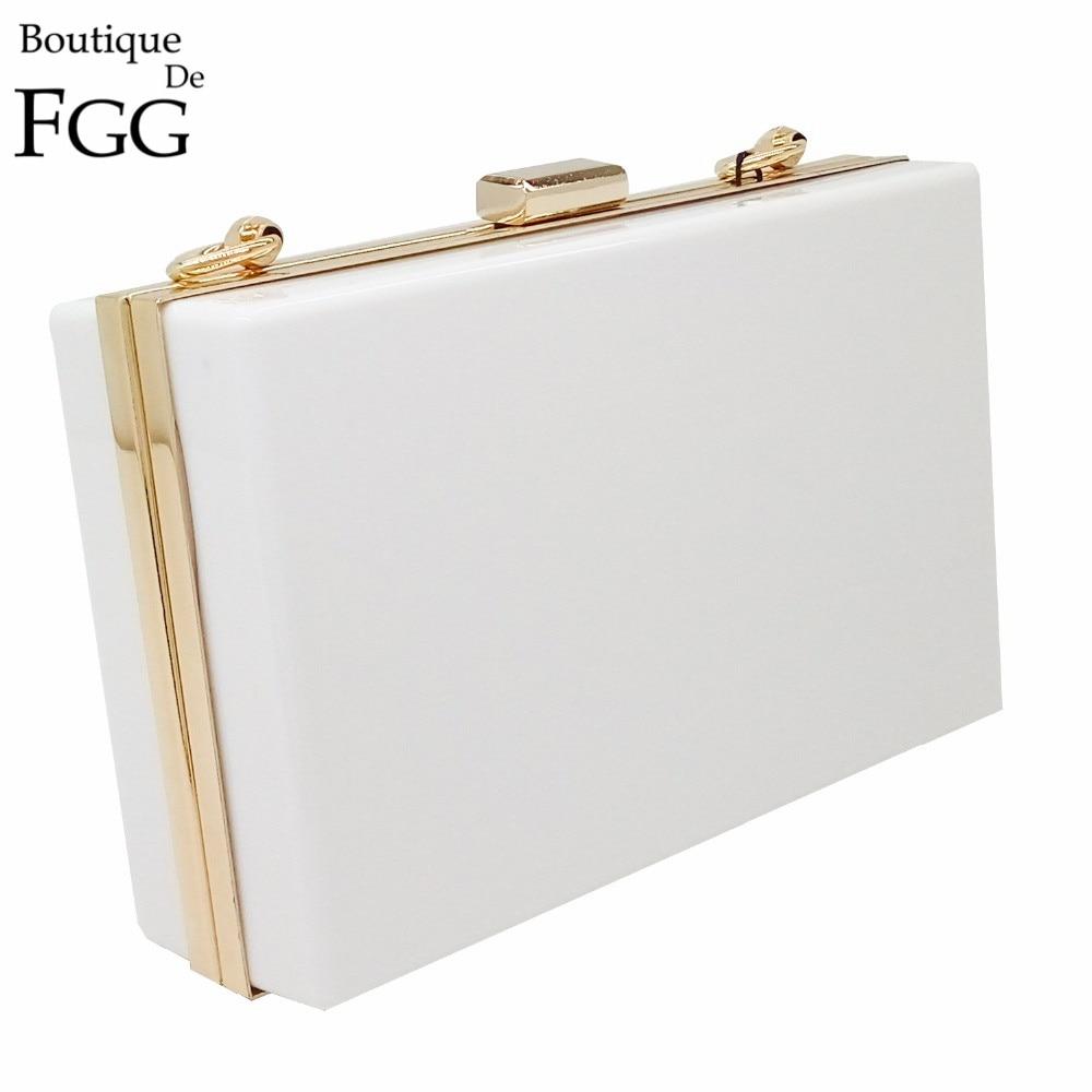 European Brand Women Simple White Acrylic Clutch Bag Ladies Hardcase Clutches Evening Bag Mini Transparent Party Dinner Handbag<br><br>Aliexpress