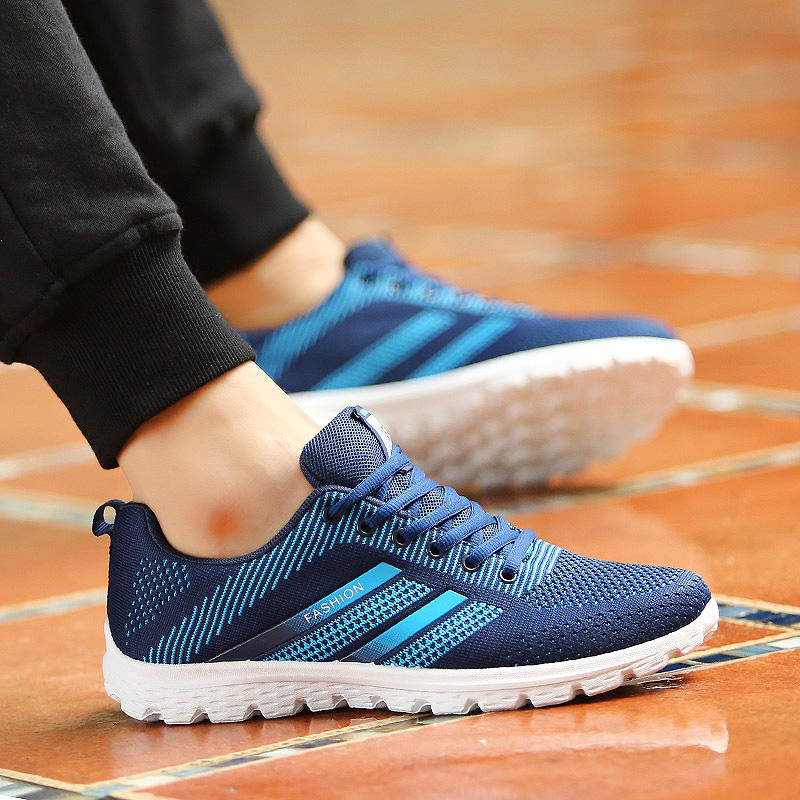 JYRhenium Sneakers Shoes Men Running Shoes 17 Lovers Outdoor Men Sneakers Sports Breathable Trainers Jogging Walking Shoes 38