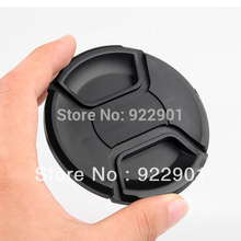 52mm Center Pinch Snap on Front Cap for Lens / Filters 52 mm