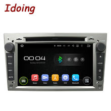Idoing 2Din Car Video Player Android For OPEL Vectra C 7 Inch Steering-Wheel Capacitive Touch Screen GPS Navigation Bluetooth TV