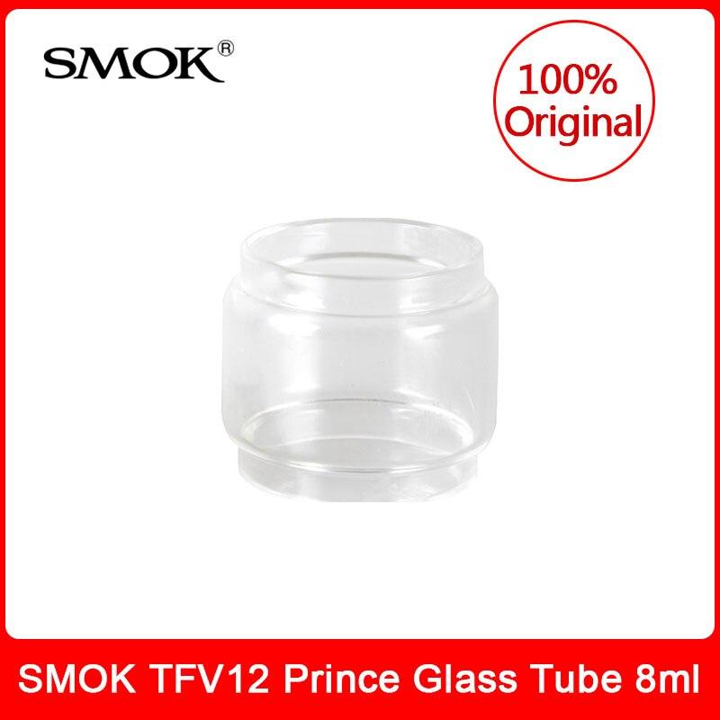 Original SMOK TFV12 Prince Glass Tube 8ml Bulb Pyrex replacement glass tube for smok tfv12 Prince (Cobra Edition) tank