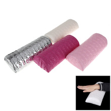 Professional Nail Art Hand Cushion Holder Soft PU leather&Sponge Arm Rest Nail Pillow Manicure Accessories Tool(China)