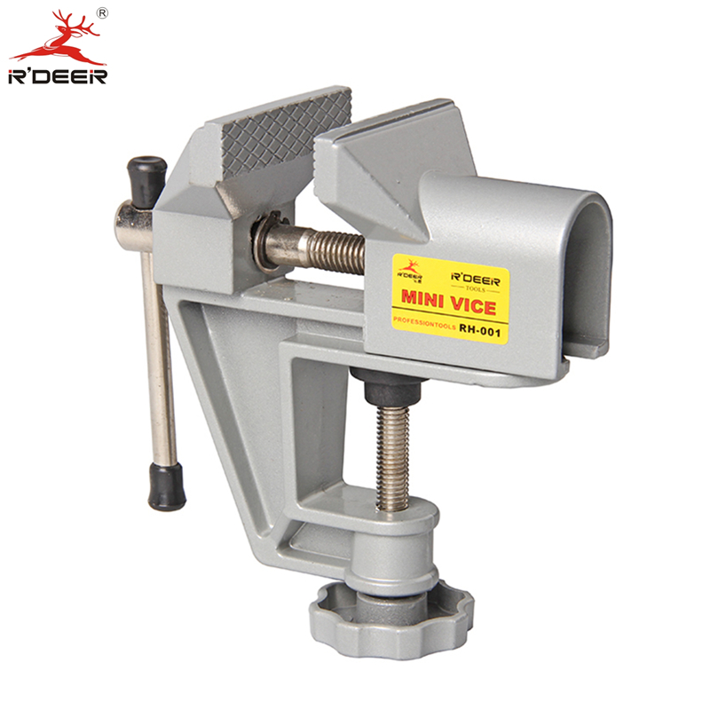 Bench Vise Universal Machine Mini Fixed Repair Tool Aluminium Alloy Table Vice Fixed Jaw Screw Firmly Hand Tools<br><br>Aliexpress
