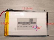 best battery brand Free shipping Wholesale 3.7v built-in lithium polymer battery 3455131 3000mAh battery mobile phone battery 7D