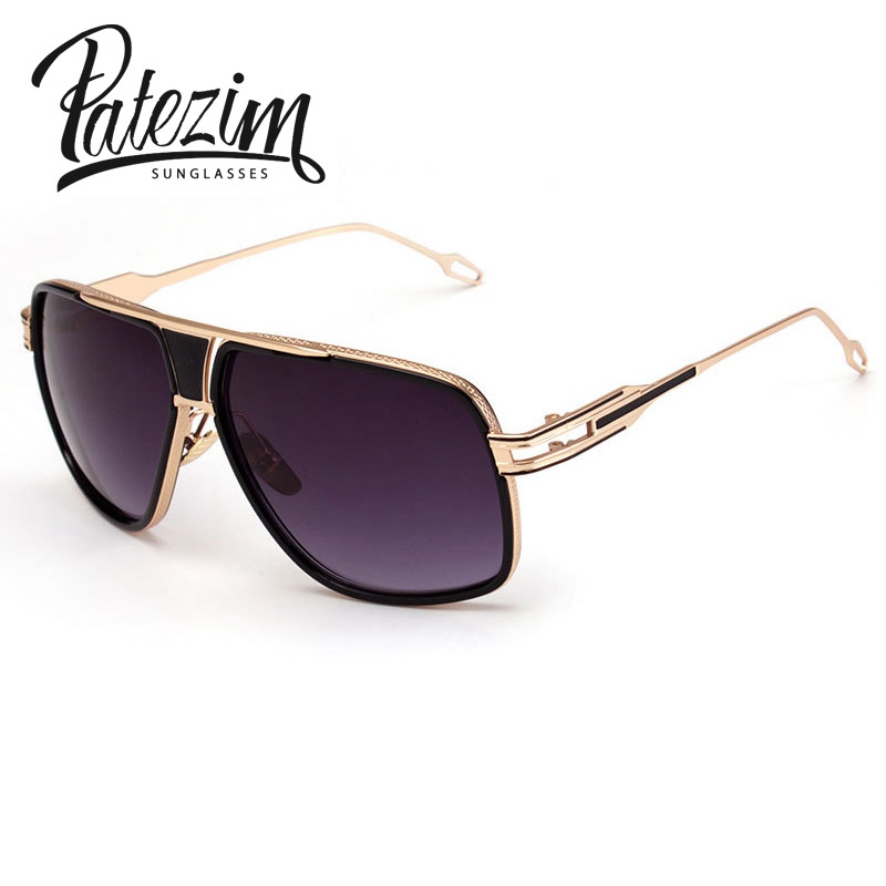 New Mens Aviator Sunglasses Fashion Metal Frame Out Door Driving Sunglasses Brand Designer Eyewear Oculos de sol masculino(China (Mainland))