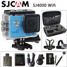 Original SJCAM SJ4000 WiFi Action Camera 2.0 inch Sports DV LCD Screen 1080P HD Diving 30M Waterproof mini Camcorder SJ 4000 Cam