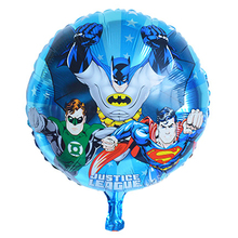 18inch cheap mylar balloons avengers toys foil helium children party decoration birthday avengers party supplies balloons(China)