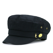 Adult casual flat army hats women and men peaked baseball caps student navy hats