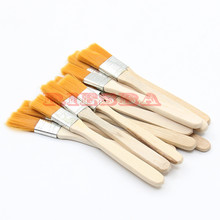 20pcs BGA Solder Flux Paste Brush With Wooden Handle Reballing Tool