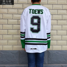 MeiLunNa Christmas Black Friday UND North Dakota Fighting Sioux #9 Jonathan Toews 0902 White Away Jersey(China)