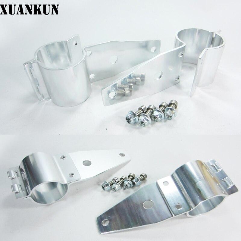 XUANKUN Monkey Bike Small Monkey Car Motorcycle Modified Aluminum Headlamp Bracket Lighthouse<br>