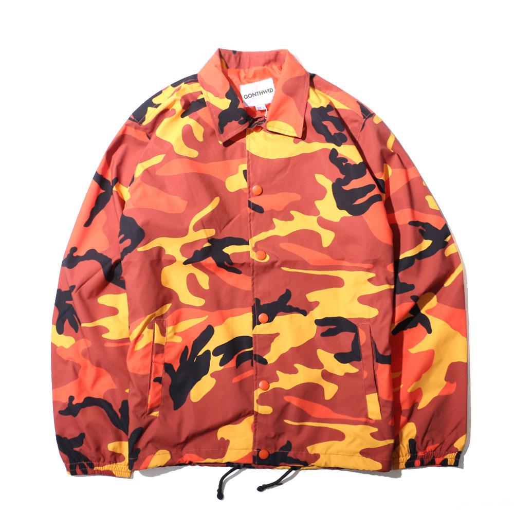 Color Camo Windbreaker Coaches Jackets 8
