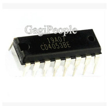 Free Shipping 100PCS CD4053 CD4053B CD4053BE DIP-16 Analog Multiplexer IC(China)