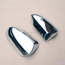 For 2015 Toyota Camry ABS Chrome Door Side Wing Mirror Cover Rearview Mirror Protector Cover Car Styling Accessories