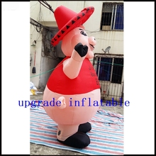 Inflatable promotional giant inflatable advertising pig / inflatable mascot