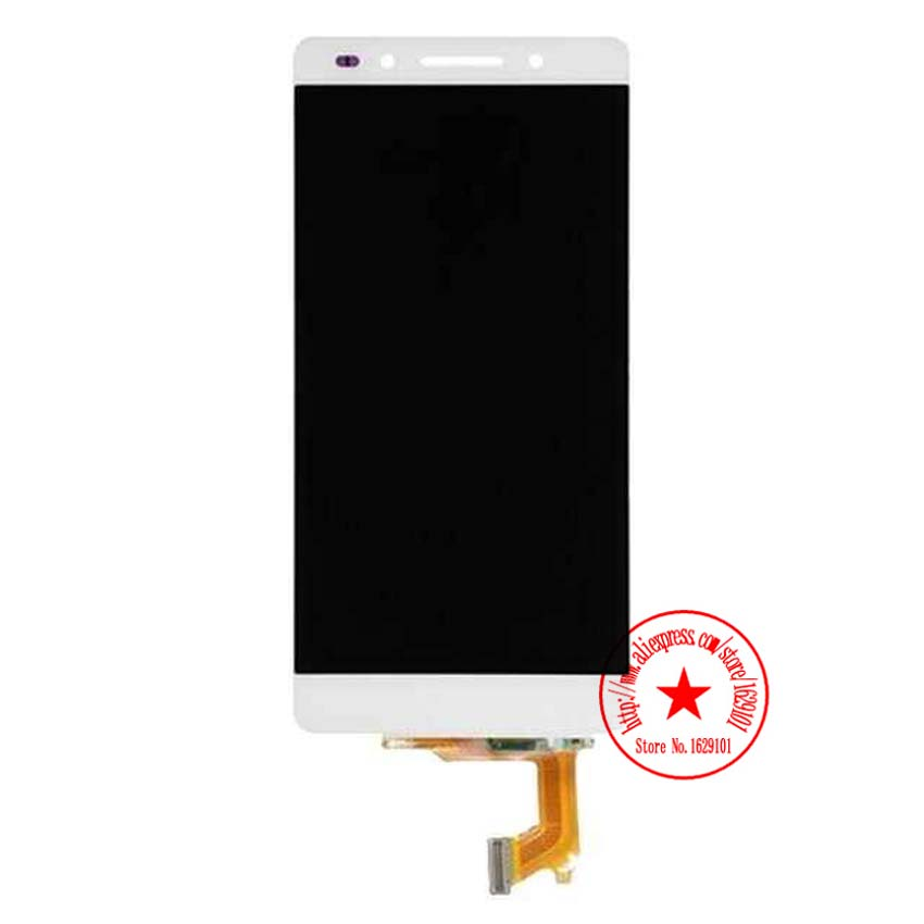TOP Quality NEW Honor 7 LCD Display Touch Screen Digitizer Assembly For Huawei Honor 7 Smart Phone Spare Parts White<br><br>Aliexpress