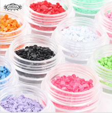 Perfect Summer Round Sequin 12 colors 3D Nail Art Decoration Hot Sale Nail UV Gel Decoration Tool Nail Art Accesories