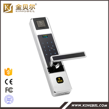 Hot top finger print digital passcode security door lock(China)