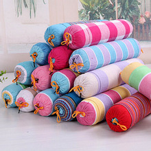 Candy Pillow Cervical Buckwheat Health Care Pillows Cylinder Type Core Circle Color Random(China)