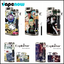 Electronic Cigarette Vapor Box Mod Stickers For Eleaf iStick Pico Box Mod Sticker Wrap Skin Decoration Case Sticker
