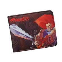 THUNDERCATS Resident Evil Wallet Classic Antique Anime Cartoon Wallet Purse for Boy Girls Money Credit Card Holder Bag Wallet(China)
