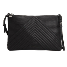 1PCS New Luxury Soft PU Leather Women Messenger Bags Crossbody Bag Black Clutch Purse and Handbag Long Strap(China)