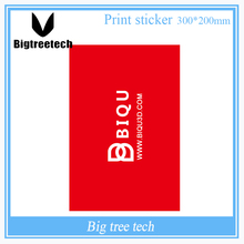 300*200MM 3D Printer Accessories Red Painter Print Bed Tape Print Sticker Build Plate Tape For 3D Printer(China)