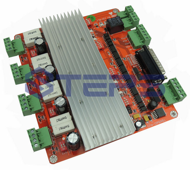 Quality assurance CNC 4 Axis TB6560 Stepper Motor Driver Controller Board For Mach3<br>
