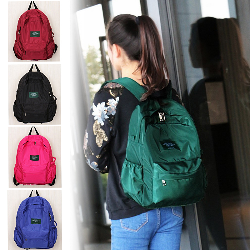 Fashion Nylon Women Backpack College Middle High School Bag For Teenager Girl Ladie Book bag Mochila Soft Daily bagpack<br><br>Aliexpress