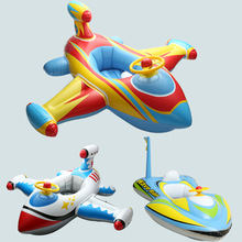 2017 Baby Pool Floats Kids Safety Swimming Pool Seat Toys Children Swim Circle New Arrival Baby Inflatable Boat(China)
