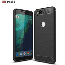For Google Pixel 2 Case Slim Rugged Hybrid Armor Shockproof Hybrid Soft Rubber Silicone Phone Cases Cover For Pixel2 / Muski