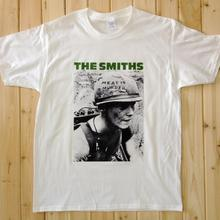 THE SMITHS Rock Music Band Tee T-Shirts Unisex Mens Womens White Short Sleeve SS3