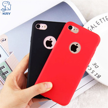 Buy KRY Cute Phone Cases iPhone 7 Case 7 Plus Candy Colors Soft TPU Silicon Cover iPhone 6 6s 5 5s SE 7 7 Plus Coque Capa for $1.18 in AliExpress store