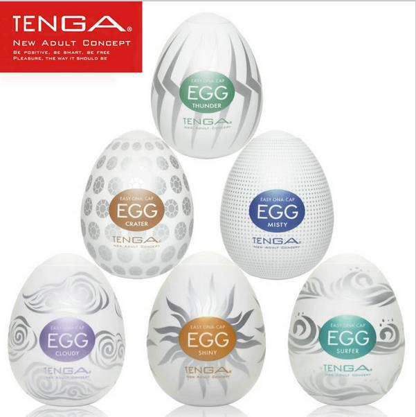 Original TENGA Egg Male Masturbator For Man Sex Pocket Realistic Vagina Japan Silicone Egg With Lubricant Sex Toys For Men(China)
