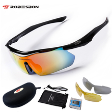 Buy ROBESBON Photochromic Polarized Cycling Glasses UV400 Bicycle Eyewear Bike Goggles Road MTB Bike Ciclismo Glasses Eyewear 3 Lens for $20.30 in AliExpress store