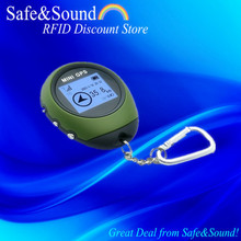 GPS Tracker Mini Handheld Navigation Watch Tracker for Outdoor Sport Date Logger Back Track+Free Shipping