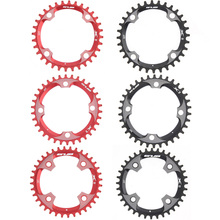 Buy MTB Mountain Bike Single Chainring BCD 104mm Ultralight Crankset Round Chainwheel 32T 34T 36T Bicycle Chainwheel Cycling Parts for $25.24 in AliExpress store