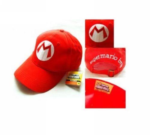 Super-Mario-Bros-Adult-Kids-Costume-Hat-Anime-Cosplay-Red-Mario-Cap