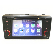 car radio  navigation DVD  Player forMAZDA 3 2004-2009 Car radio Stereo With BT Ipod Steering wheel