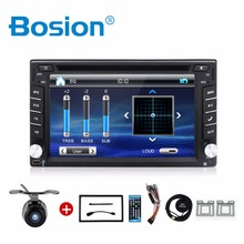 2 din car dvd player gps radio include bluetooth mp3 player touch screen(China)