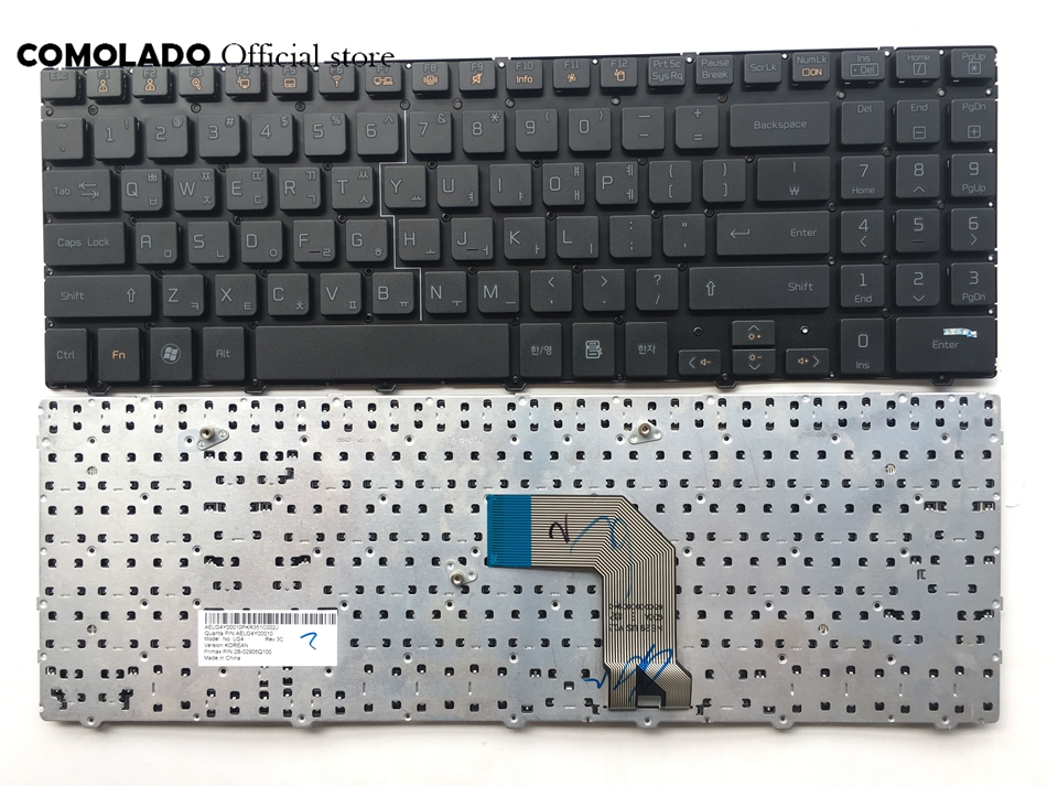 KR Korean keyboard For LG S530 S530-K S530-G S530 S525-K S525K S525G S525 Black without frame keyboard KR layout