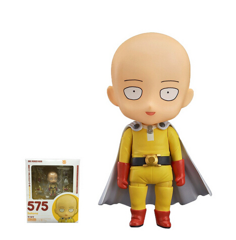 1pcs one punch man punch-man Nendoroid Figure gifts 575 10cm saitama anime movie pvc collection toy gifts model gsc<br><br>Aliexpress