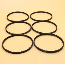 6Pcs/lot High Quality Camshaft Timing Drive Belt Fit Honda GX35 GX35NT Engine Motor Generator, HHT35S UMK435 Trimmer Lawn Mowers(China)