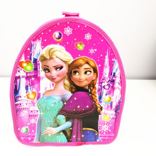1pc 29*23*13cm Cute Anna and Elsa Princess SchoolBag Daypack PP Bag Birthday Party supplies Gift Party Favors For Kids Boy Girl(China)